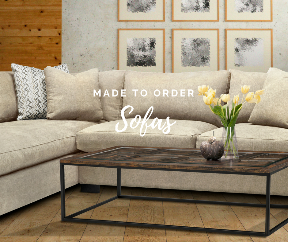 Stylus Made-to-Order Sofas