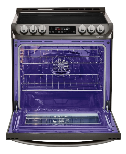 "30"" Black Stainless Range Oven"