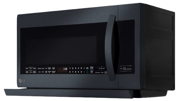 Black Stainless Microwave