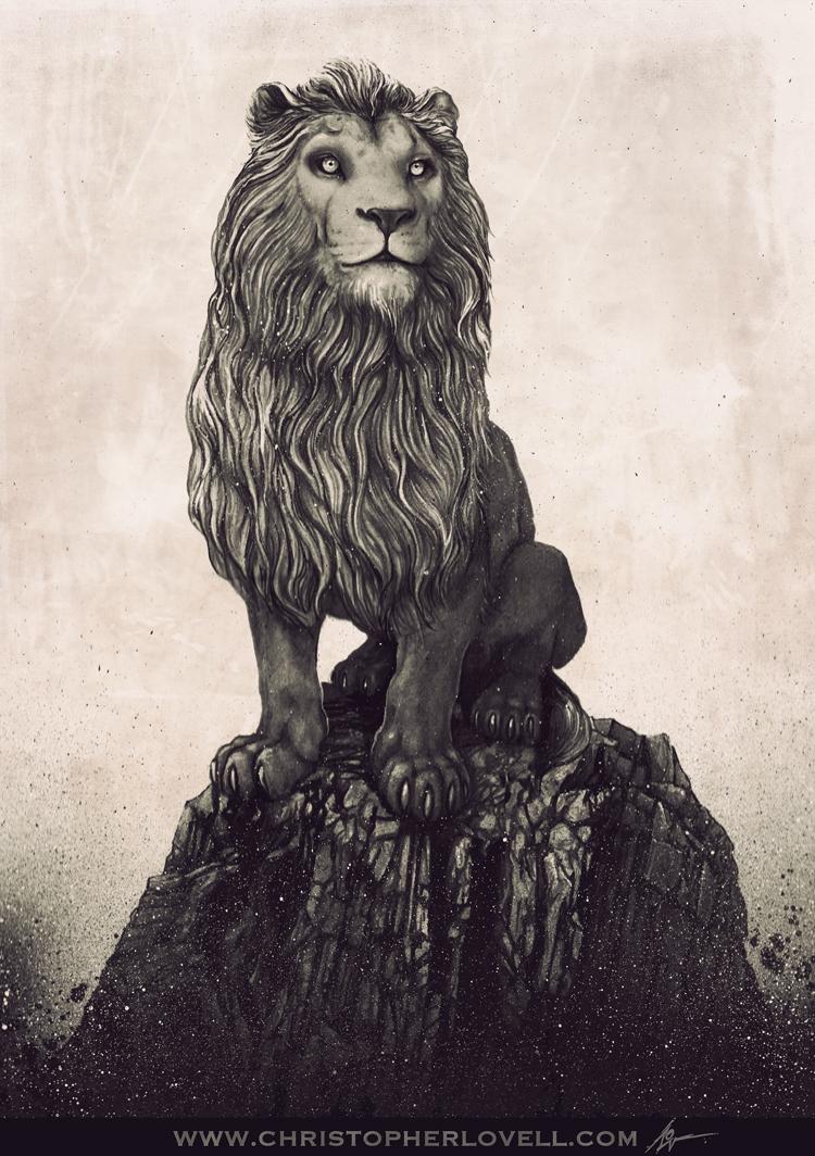 CHRISTOPHER LOVELL LION ART.jpg