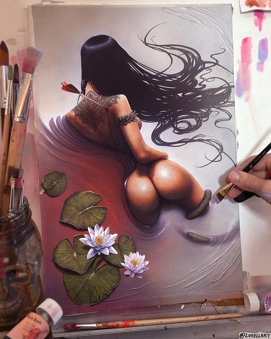 01 christopher_lovell_lotus_painting.jpg