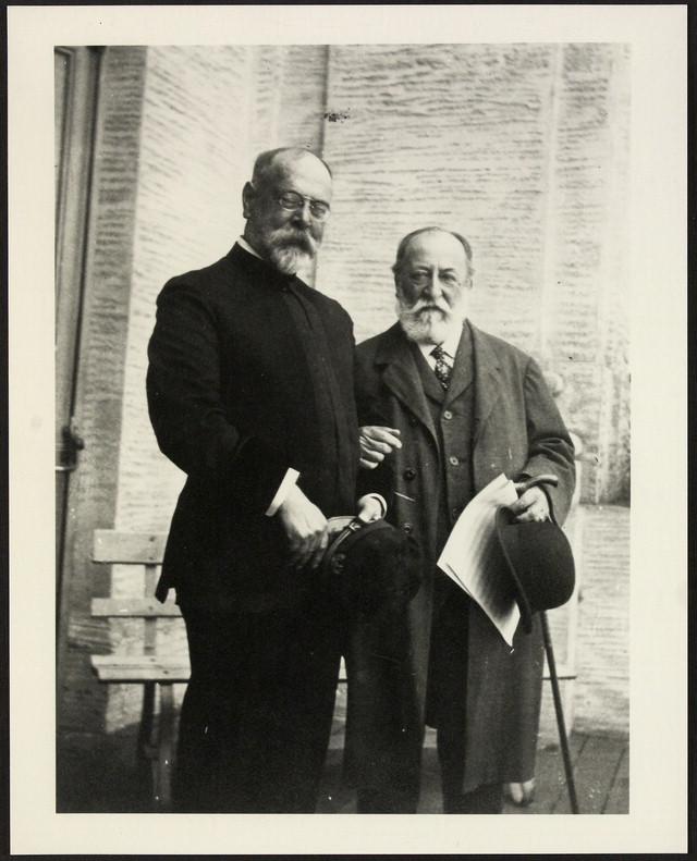 John Philip Sousa & Camille Saint-Sa ë ns, 1915    San Francisco, CA