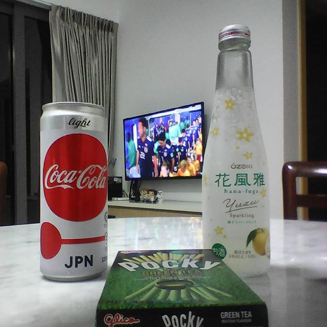 """May You Reign.  A Thousand Years  Eight Thousand Years."" #JP #hometeam #ふるさと #君が代 #日本 #Chachacha #Nippon #Coke #Ozeki #Pocky #Glico #fifa18"