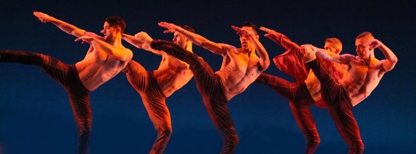 """""""Shirt off My Back"""" choreographed by Ray Mercer. Joshua Blake Carter, Intrigue instructor, shown far right."""