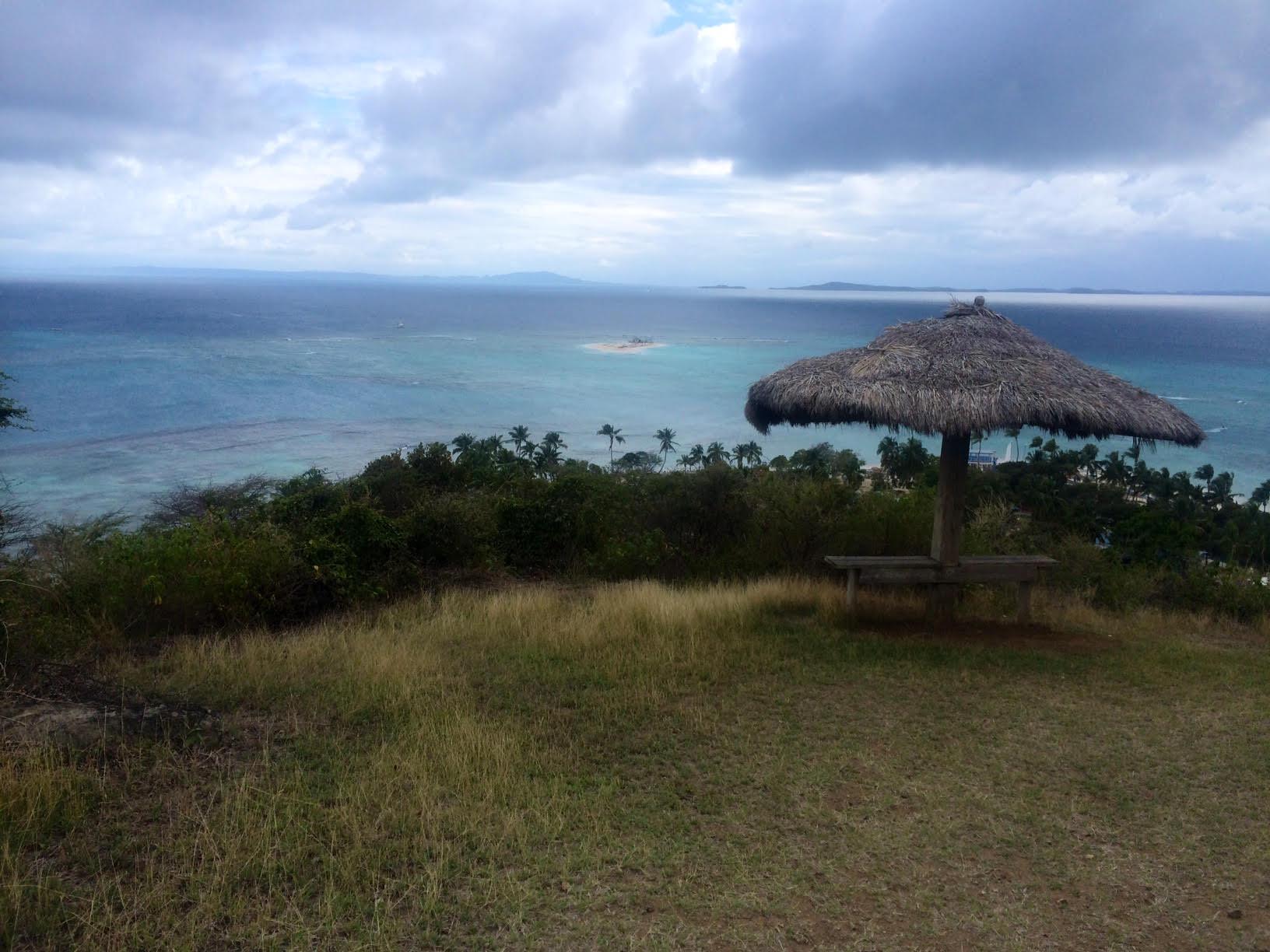 On top of Palomino Island looking towards Palominito Island