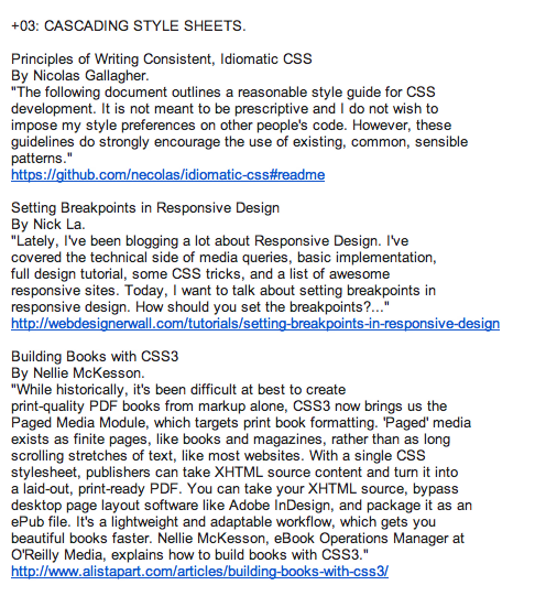 Shot of Web Design Update: June 14, 2012