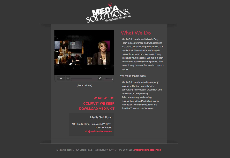 Media Solutions - Design & Build