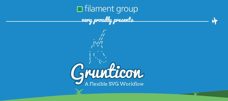 Grunticon a Flexible SVG Workflow
