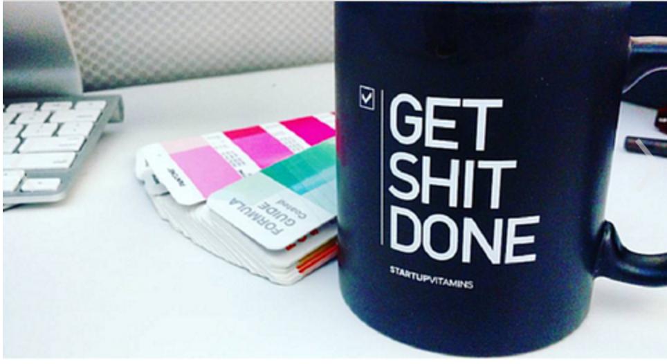 Cool mug with a reminder.