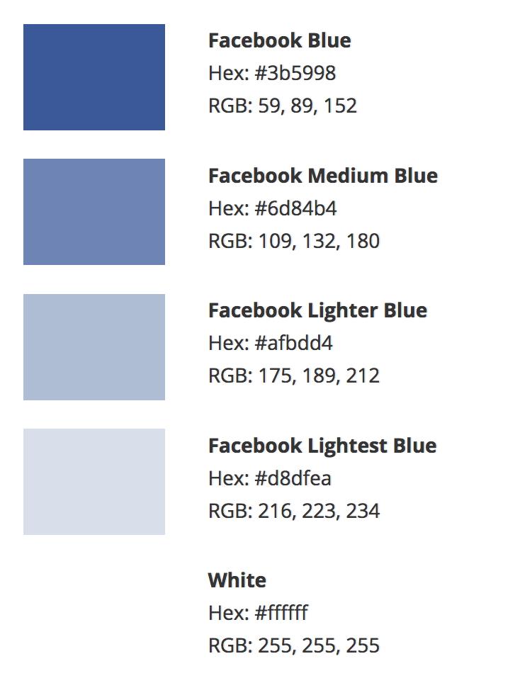 https://designpieces.com/2012/12/facebook-colour-palette/ .