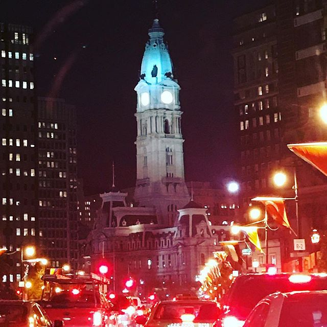 Philadelphia on a beautiful night for a meetup! #philly #systemsthinking #healthcare #ux