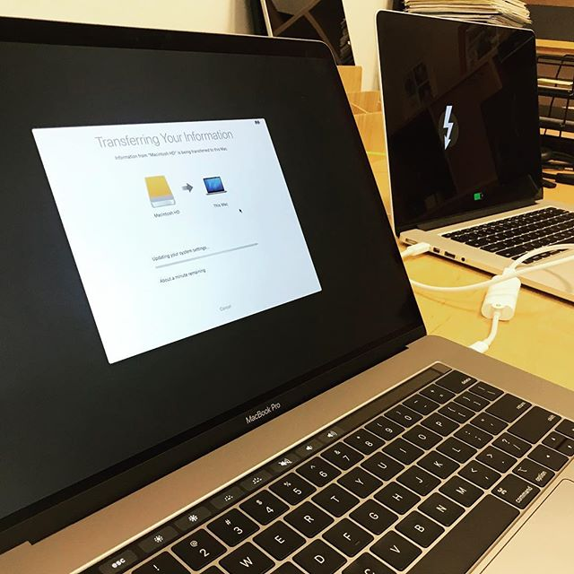 New Mac / Migration! #uxer