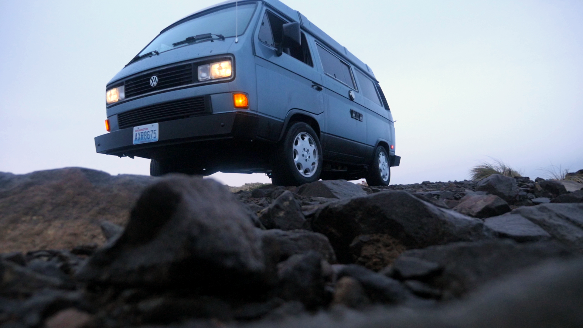 Van At The Beach