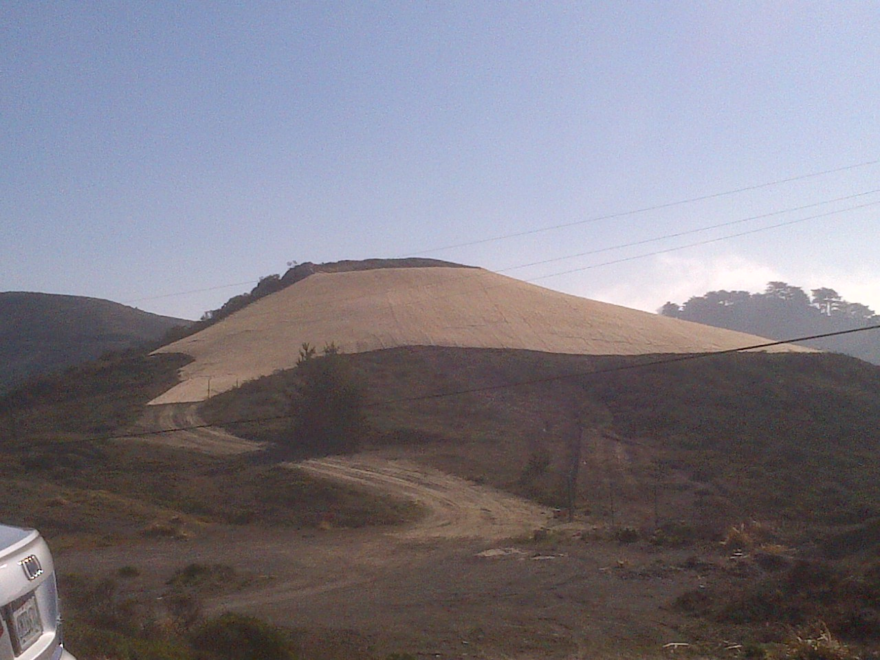Historic Quarry completed with slope stabilization