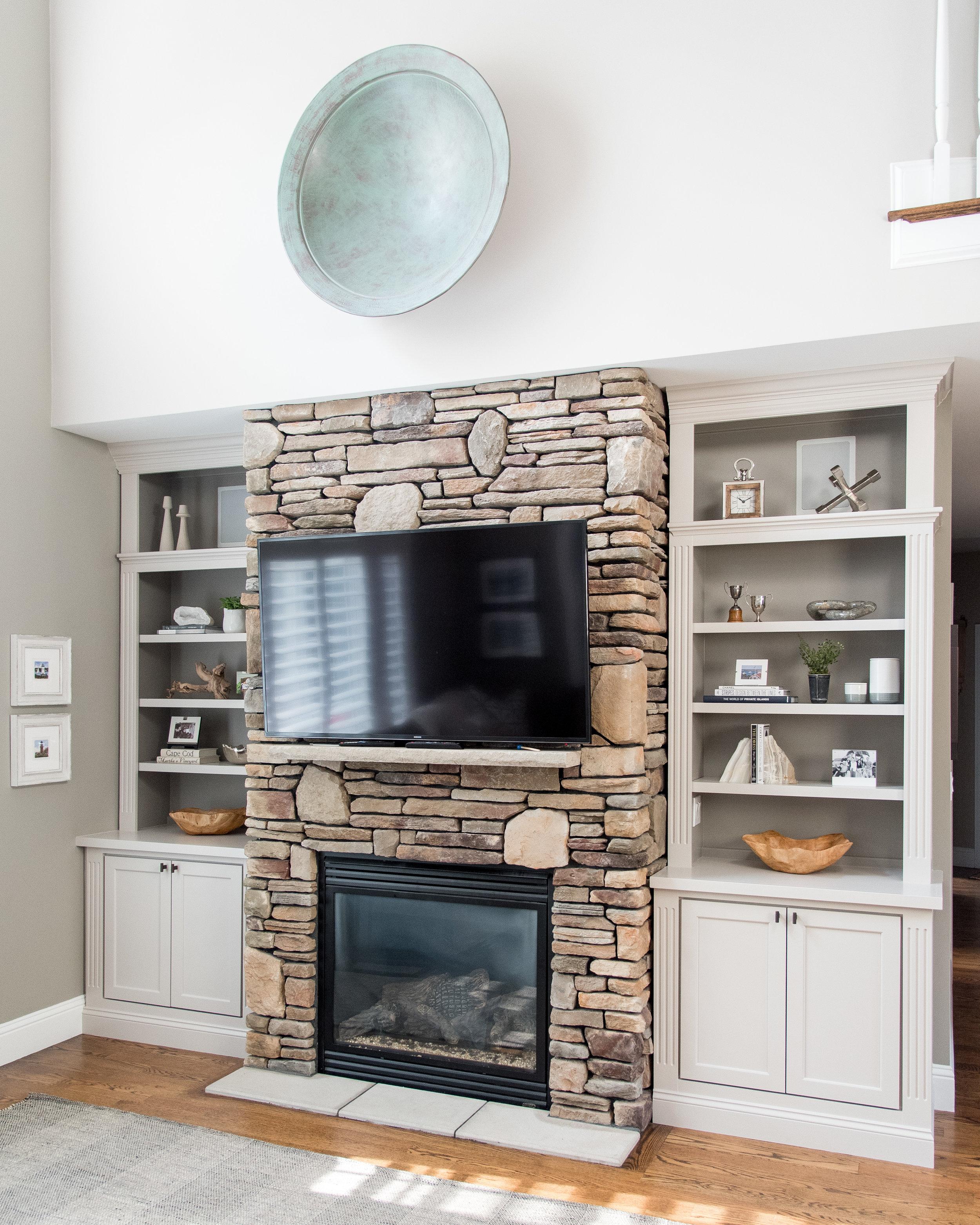 Interior Designer Boston Massachusetts Family Room Design