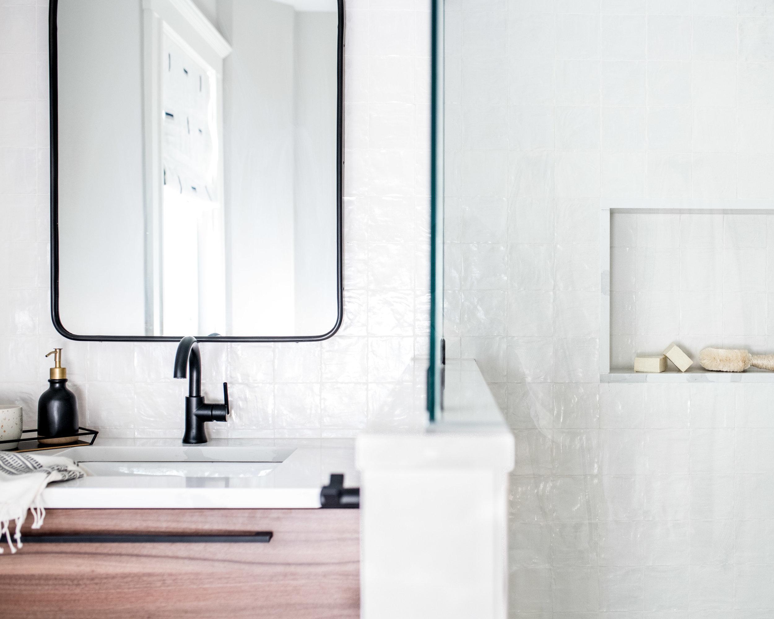 modern Bathroom Renovation after