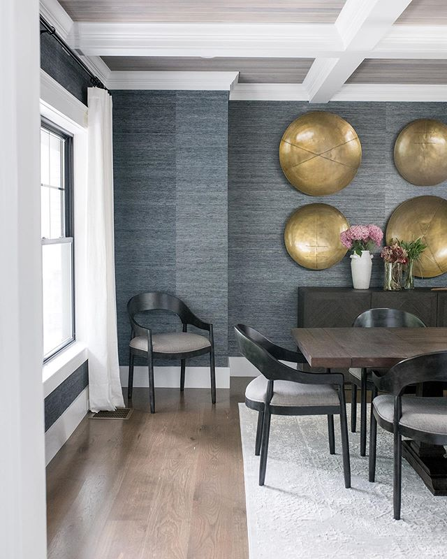 Formal entertaining spaces such as dining rooms may not be as popular as they used to be but there is something to say about those that still honor the formal dinners on occasion. Even if rooms like this don't get every day use they sure are pretty to look at everyday! builder Diptero Homes | Design @ginabaran | pc @wearefreebird | contractor assist @mollabuilders