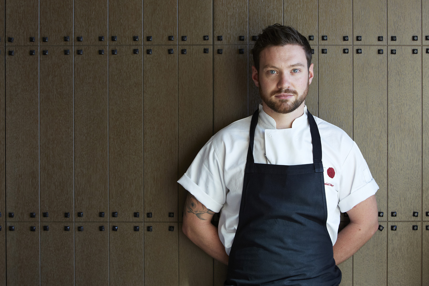 Chef Daniel Doherty set for OnBlackheath (©DavidCotsworth)