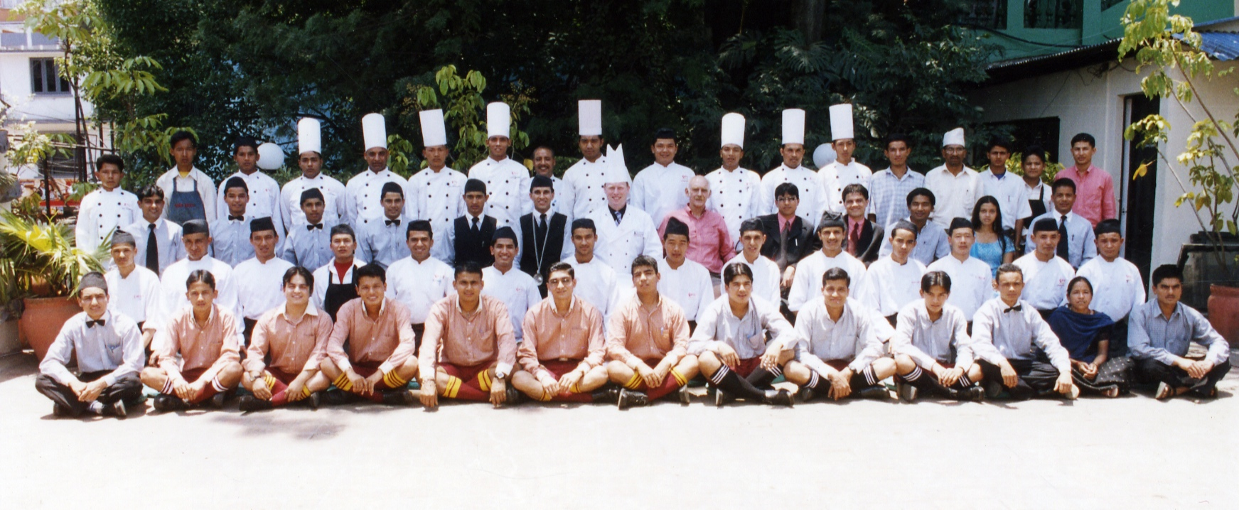 The chefs, waiters, dishwashers, management, maintenance, security and administration teams who made it all possible!