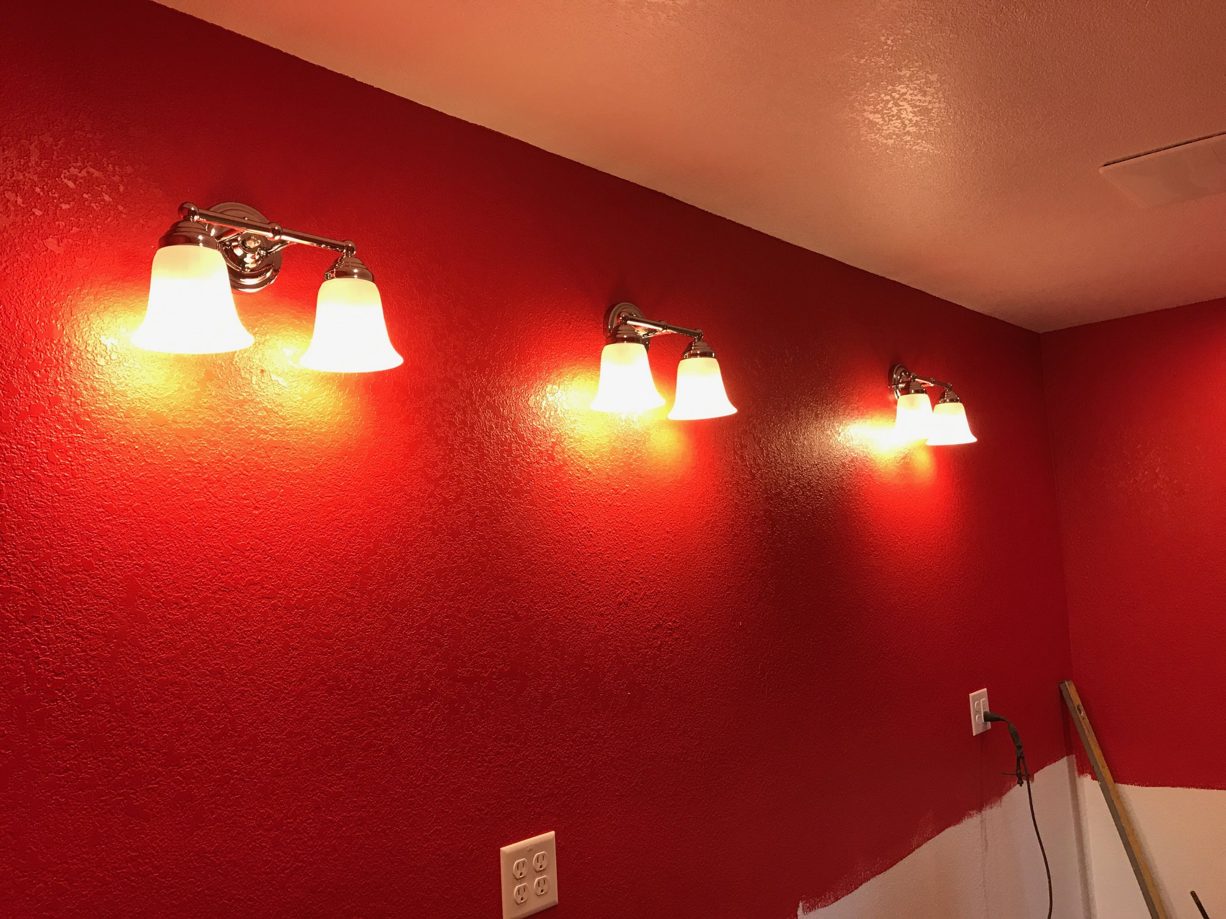 Master Bath Vanity Lights