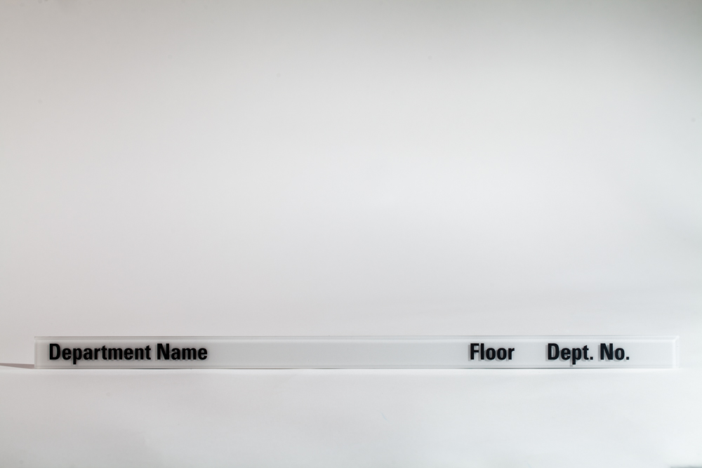 Signage that can bend