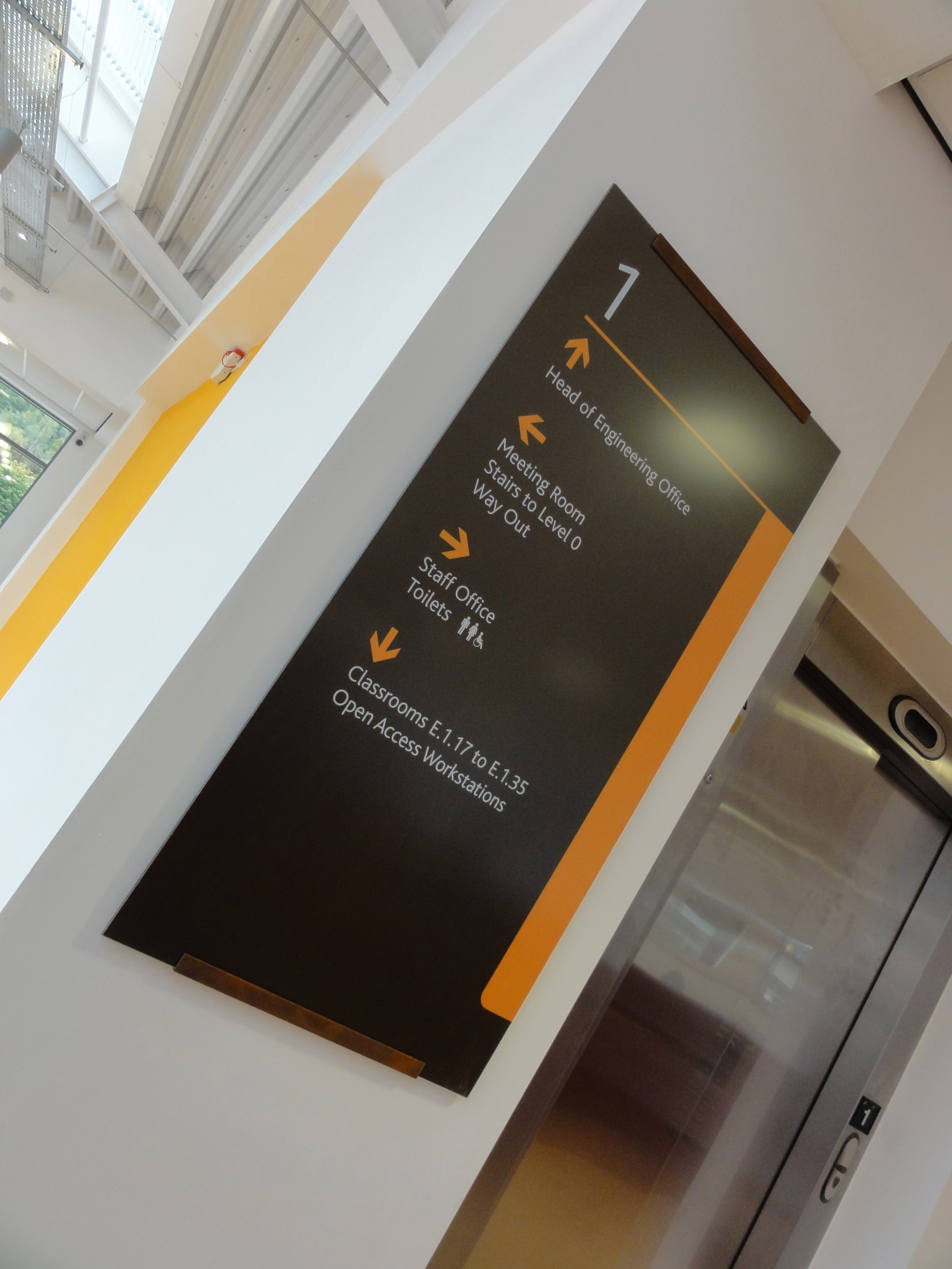 ADA Directional Sign Systems