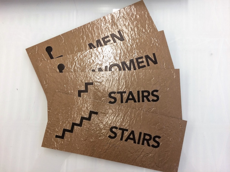 ada stair signs