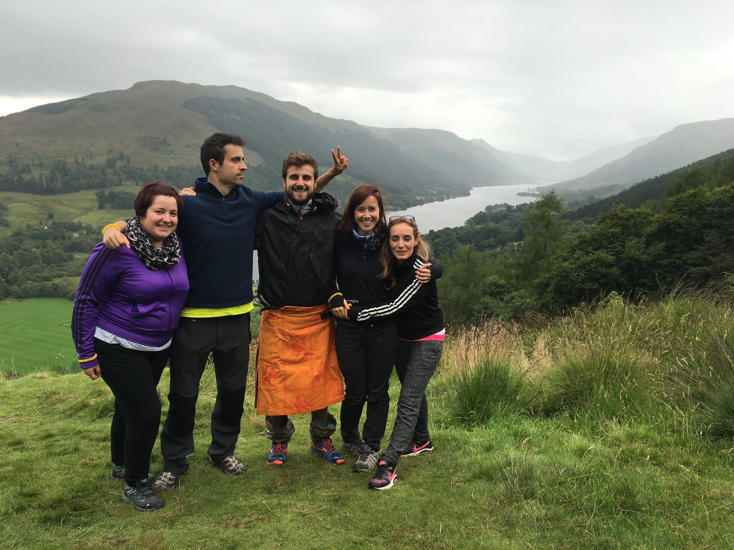 group-fun-in-balquhidder-glen