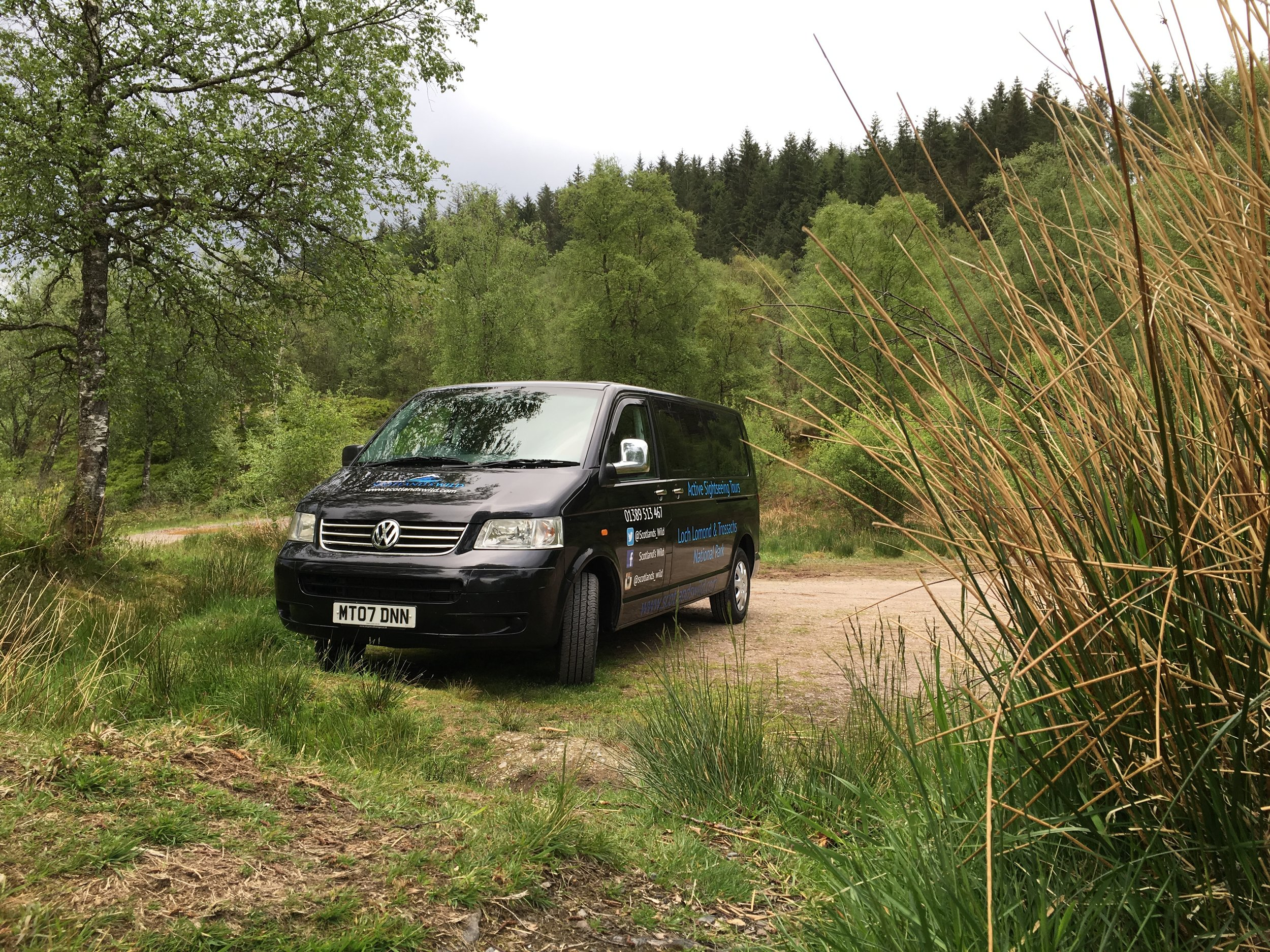 Small group Tours in remote Scottish locations