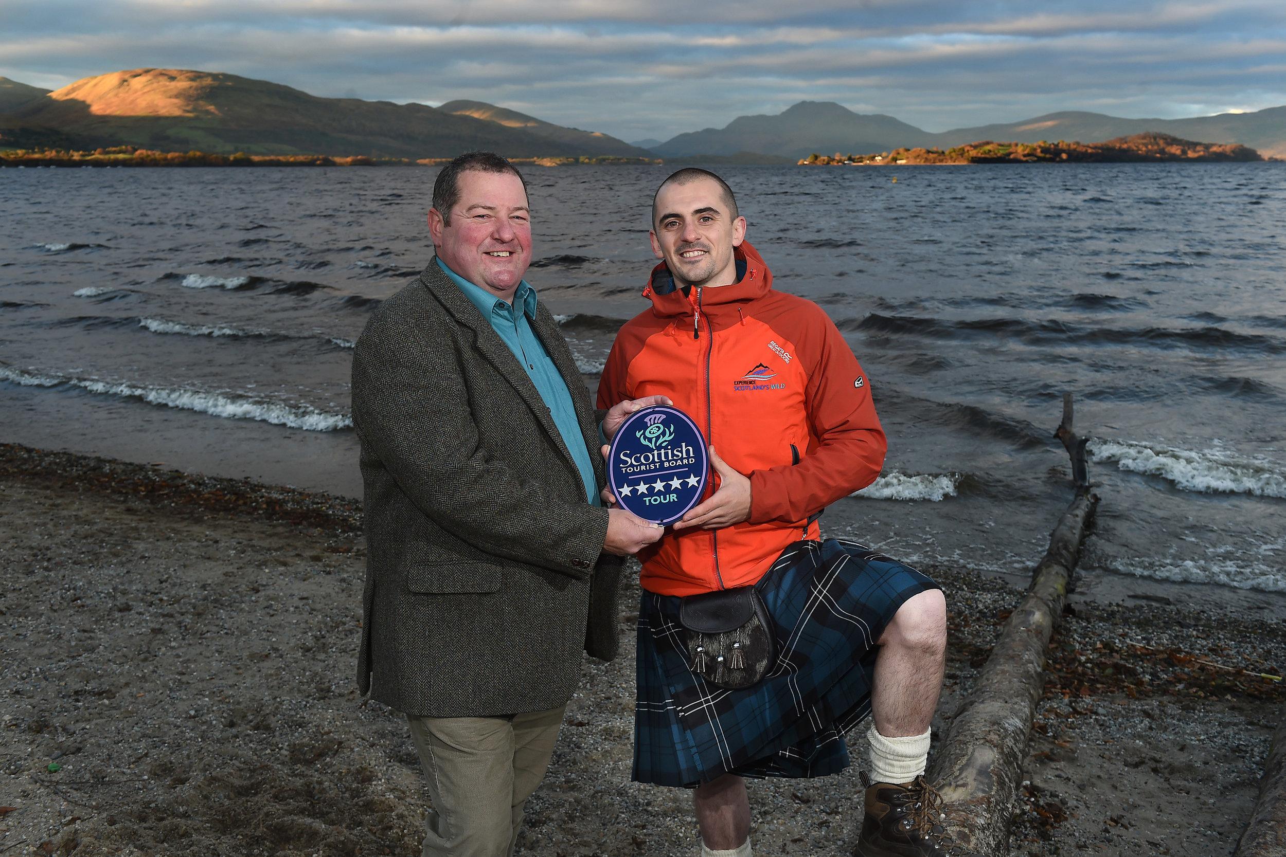 scotland's wild receiving 5 star award.jpg