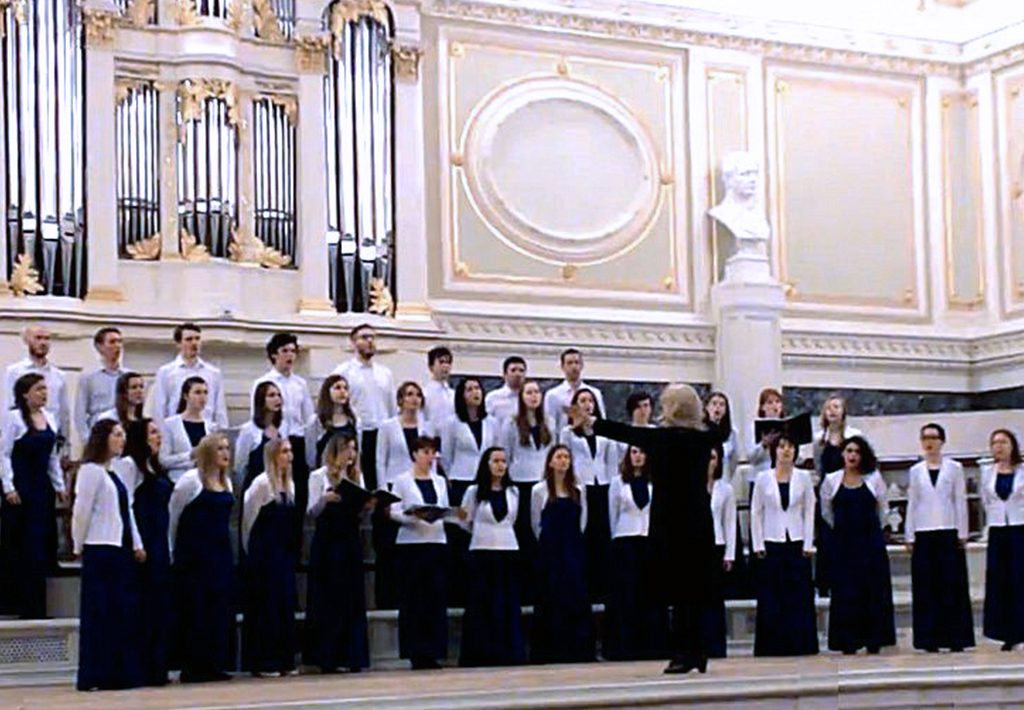 "Children and youth choir of ""Eva"" (Saint Petersburg, Russia) Musical Director- Elena Rabinowich"