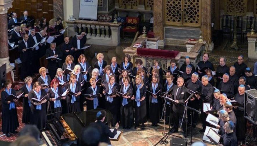 Zemel Choir (London, UK) Musical Director Benjamin Wolf