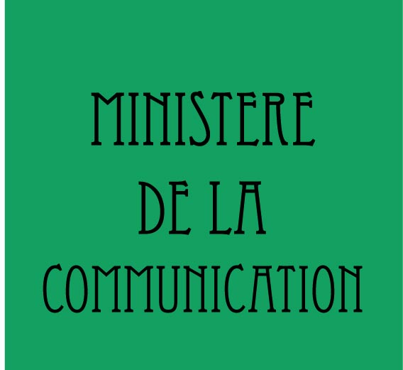 MINISTERE OF COMMUNICATION