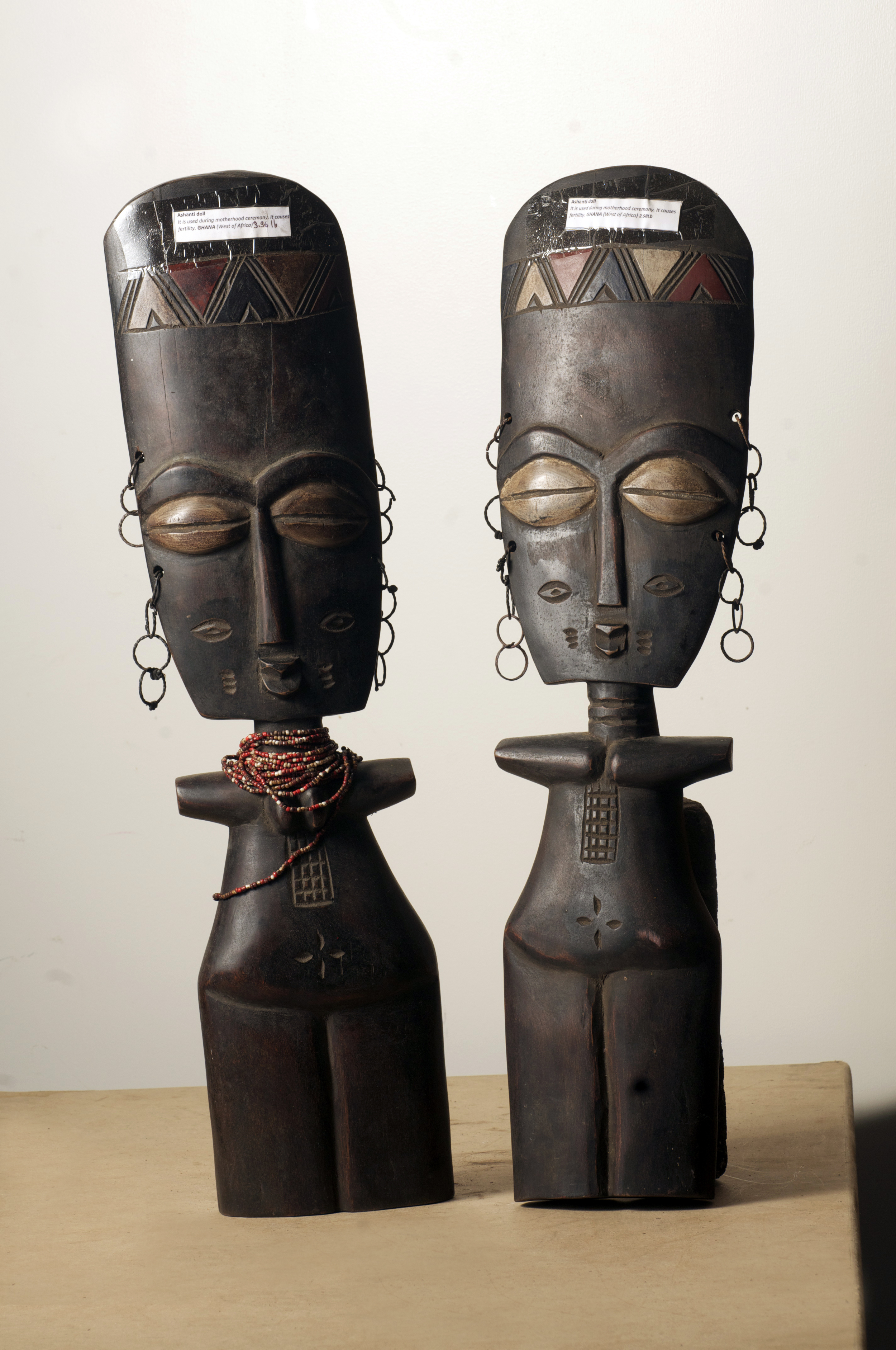 Ashanti Dolls, Ghana. Height 26inch.Pp. $250.00each.jpg