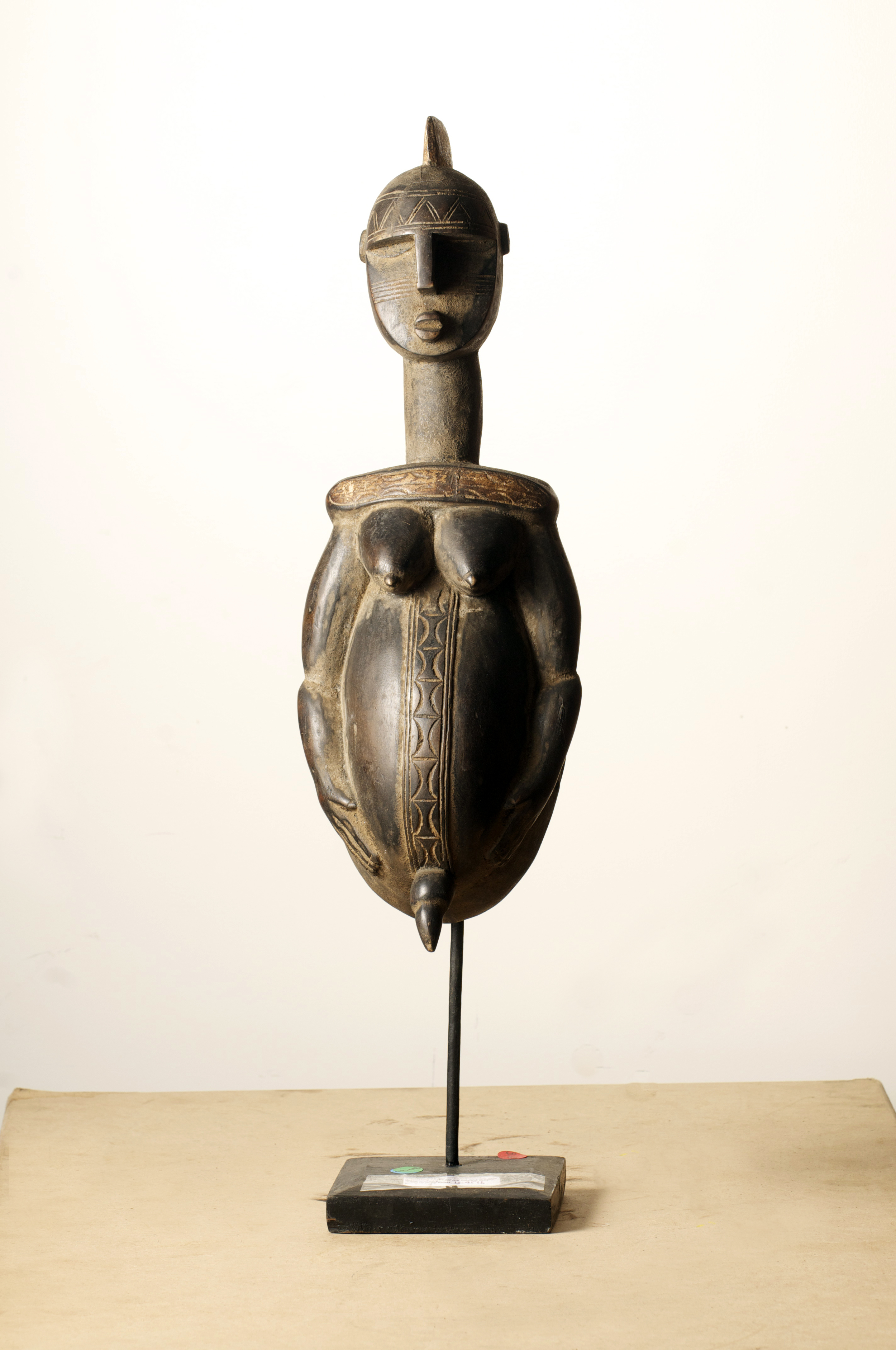 Bambara Mask, Mali,Height 32 inch. Pp.$1650.00.jpg
