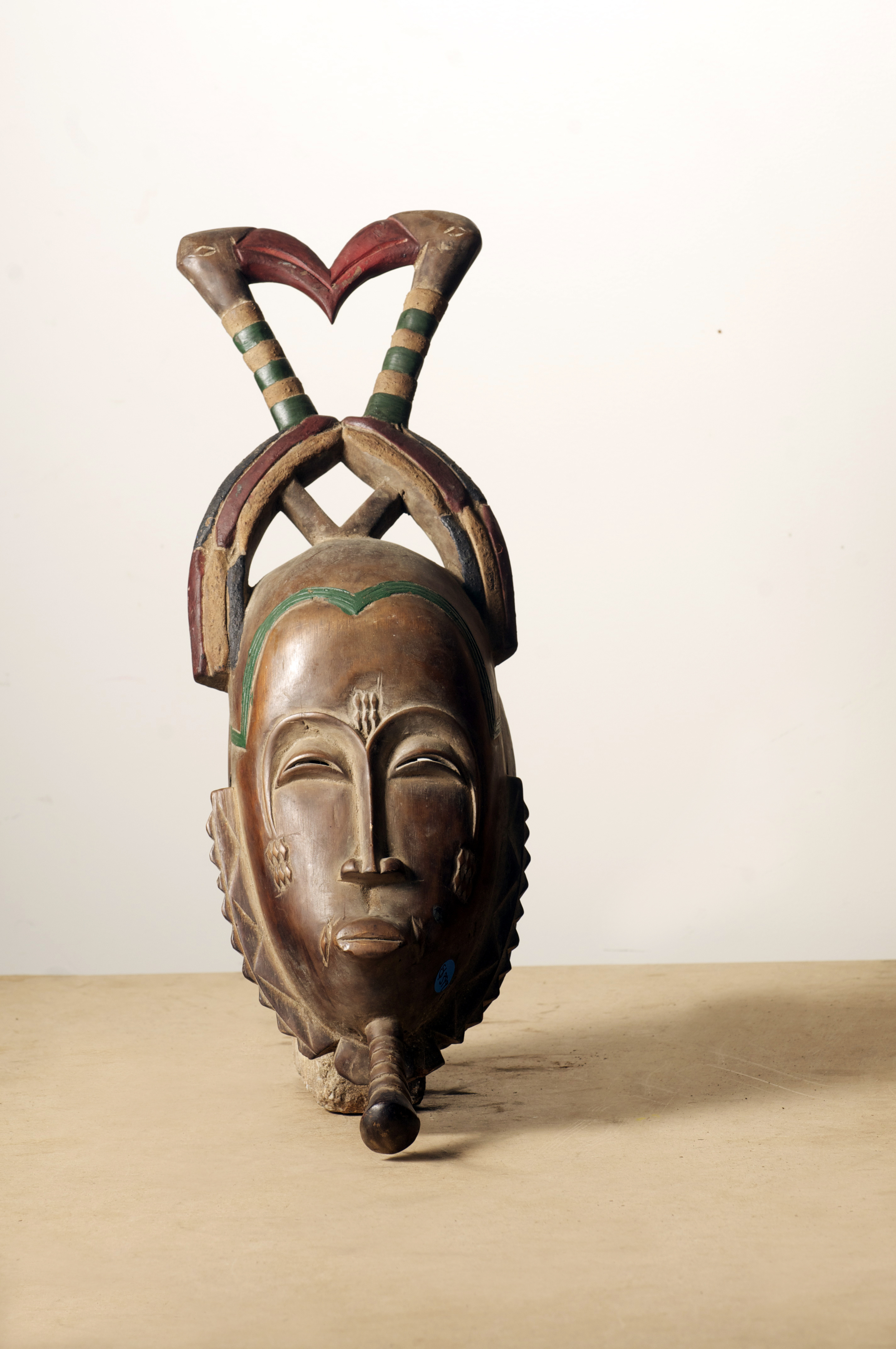 Baule Mask, Cote D'Ivoire. Height 22inch.Pp. $399.00.jpg