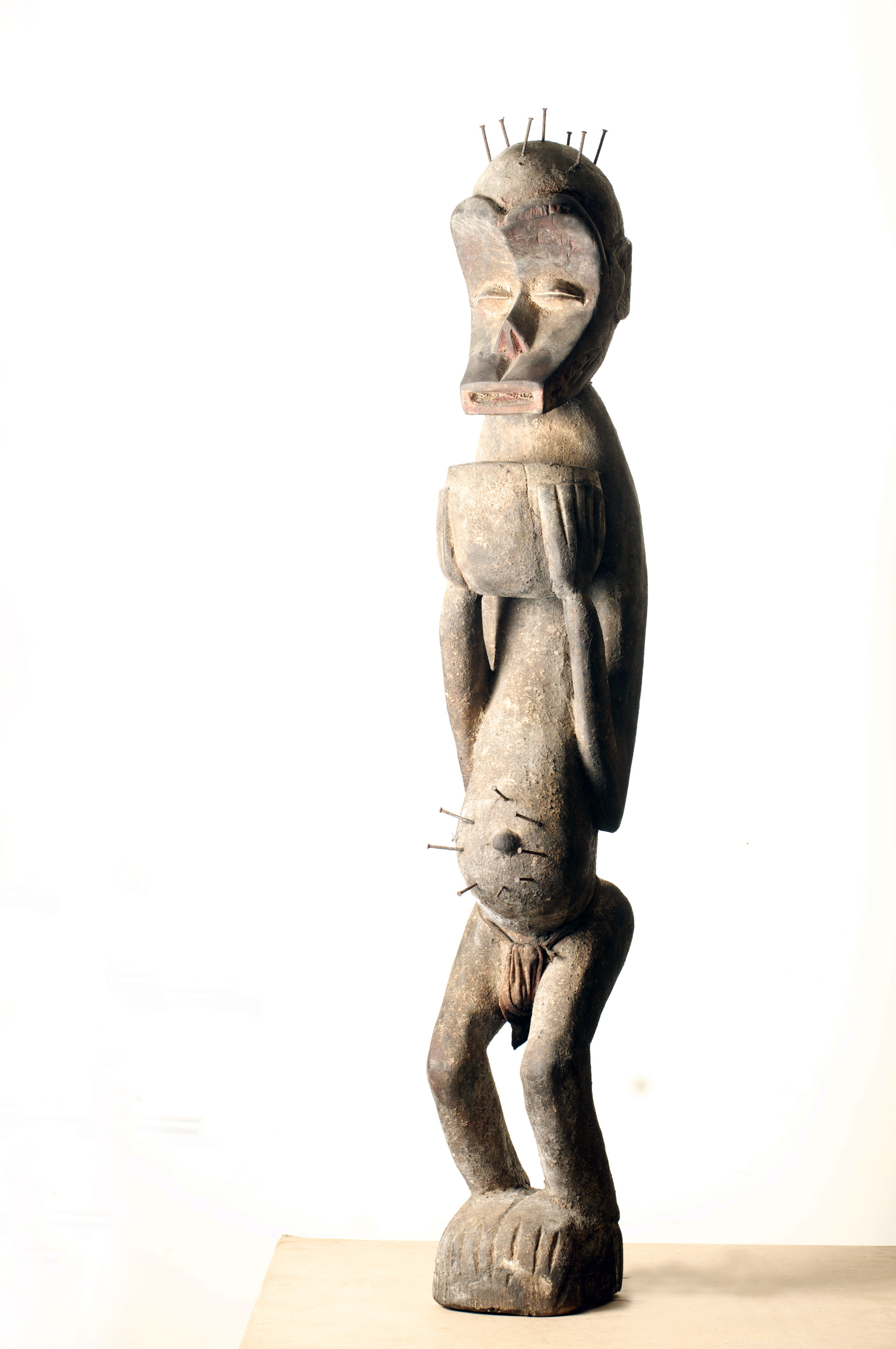 Baule Monkey figure, Cote D'ivoire. Height 43 inch.Pp. $1599.00.jpg