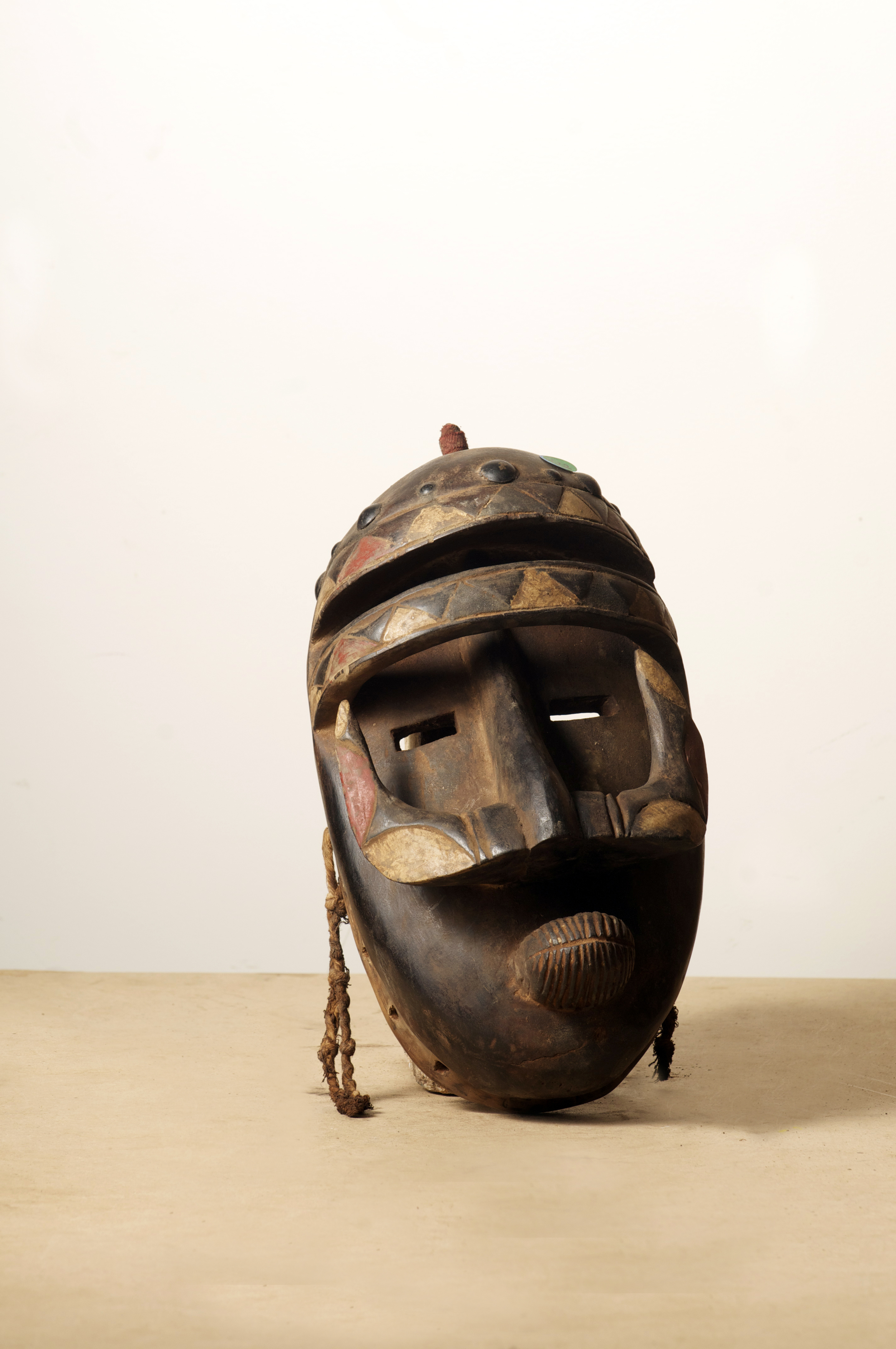 Bete Mask, Cote D'Ivoire. Height 17.6. Pp. $590.00.jpg