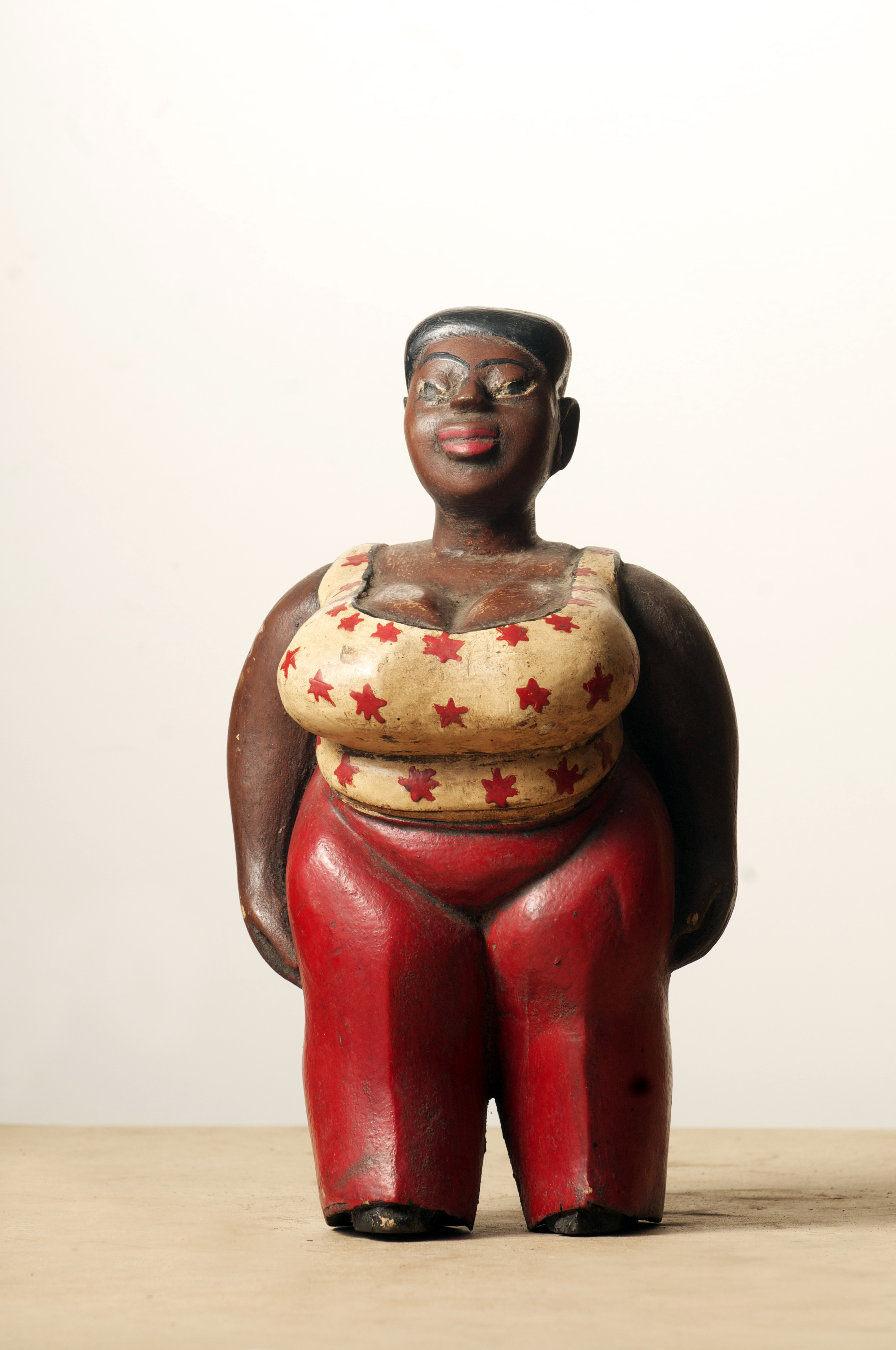 Colon Baule Awulaba, Cote D'ivoire. Height 16.4inch. Pp. $290.00.jpg
