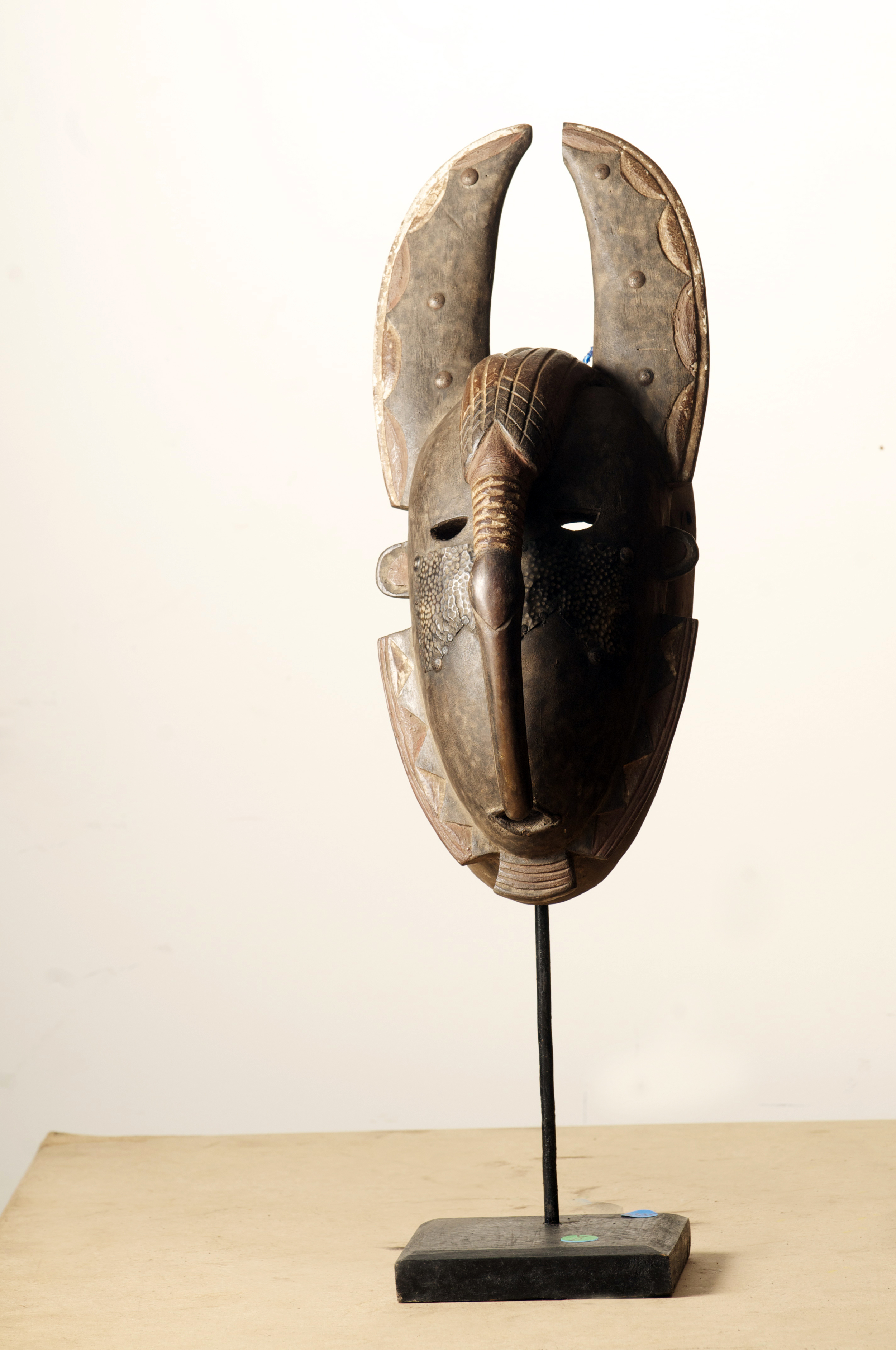 Djimini Mask, Cote D'Ivoire, Height 19.2inch.Pp.$335.00.jpg