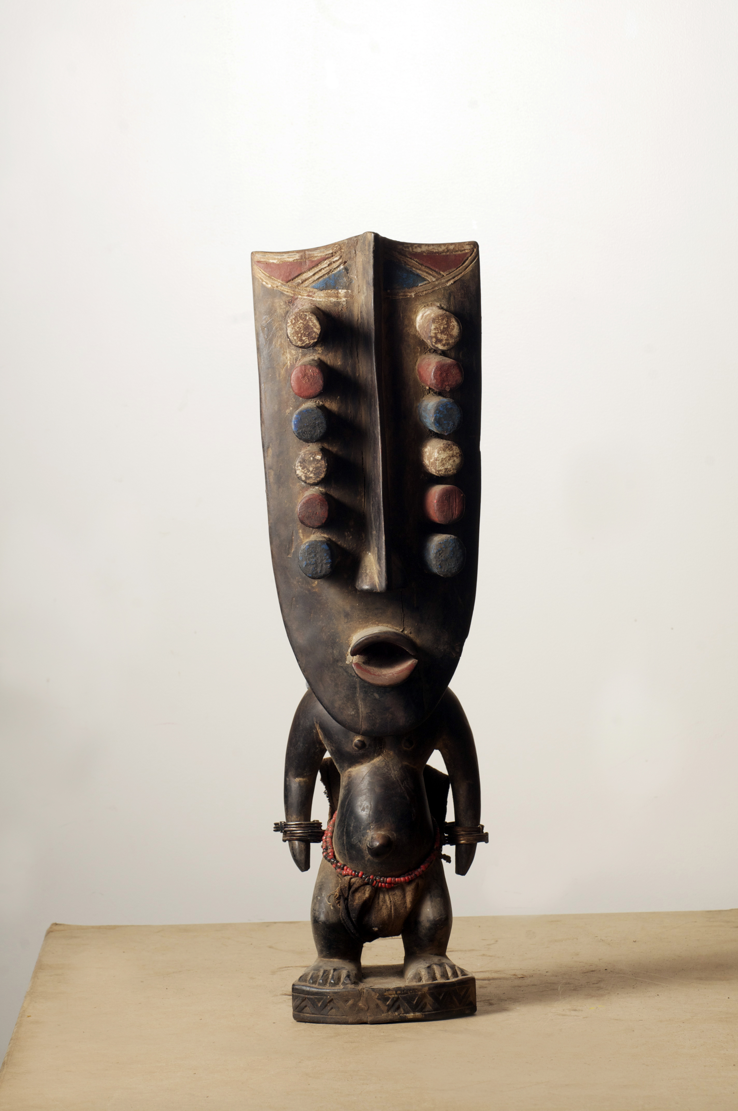 Grebo figure, Cote D'ivoire. Height 26.2 inch. Pp. $455.00.jpg