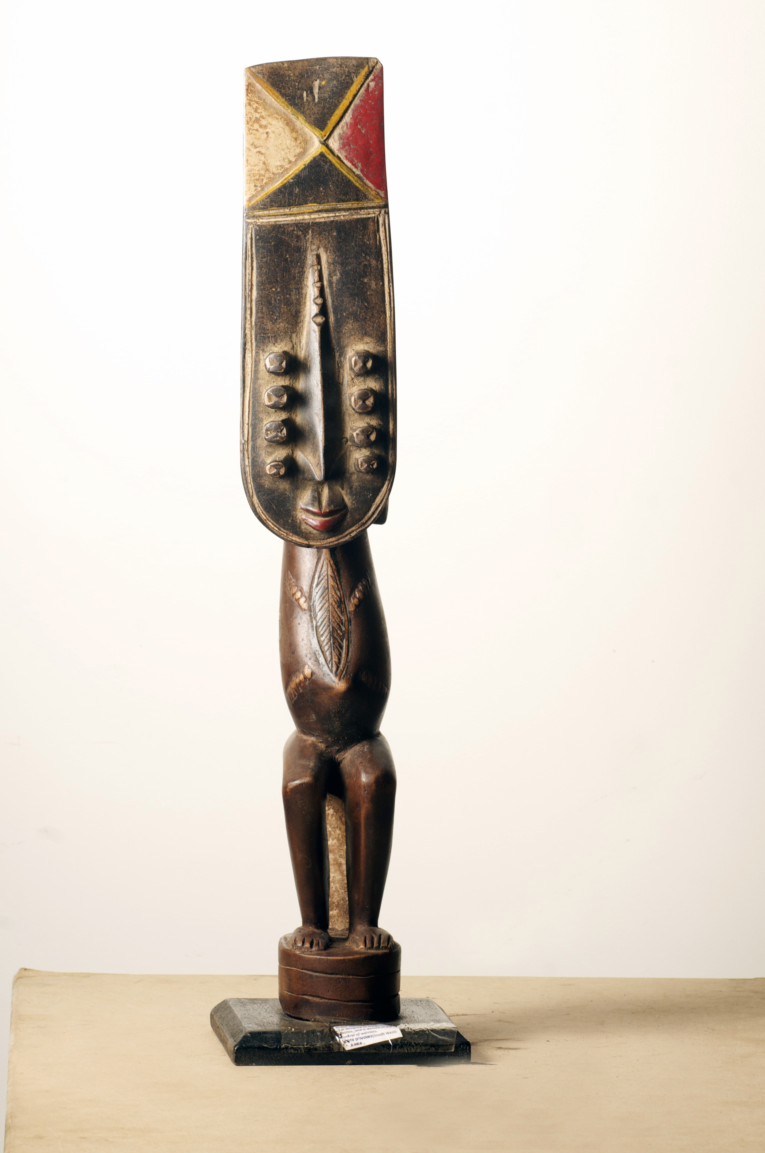 Grebo figure, Cote D'Ivoire. Height 29.4 inch. $400.00.jpg