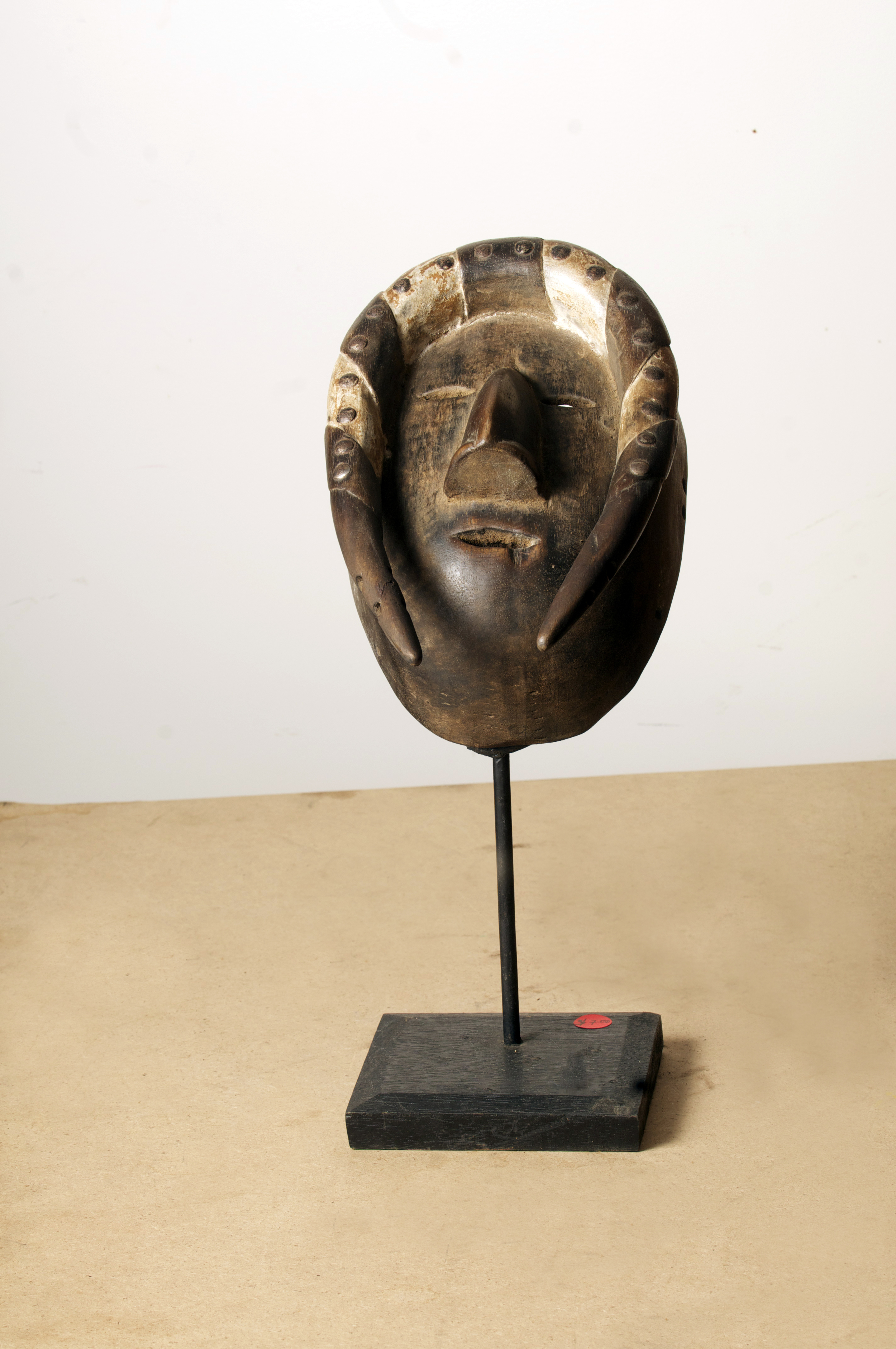 Guro Mask, Cote D'Ivoire, Height 15.4inch. Pp. $335.00.jpg