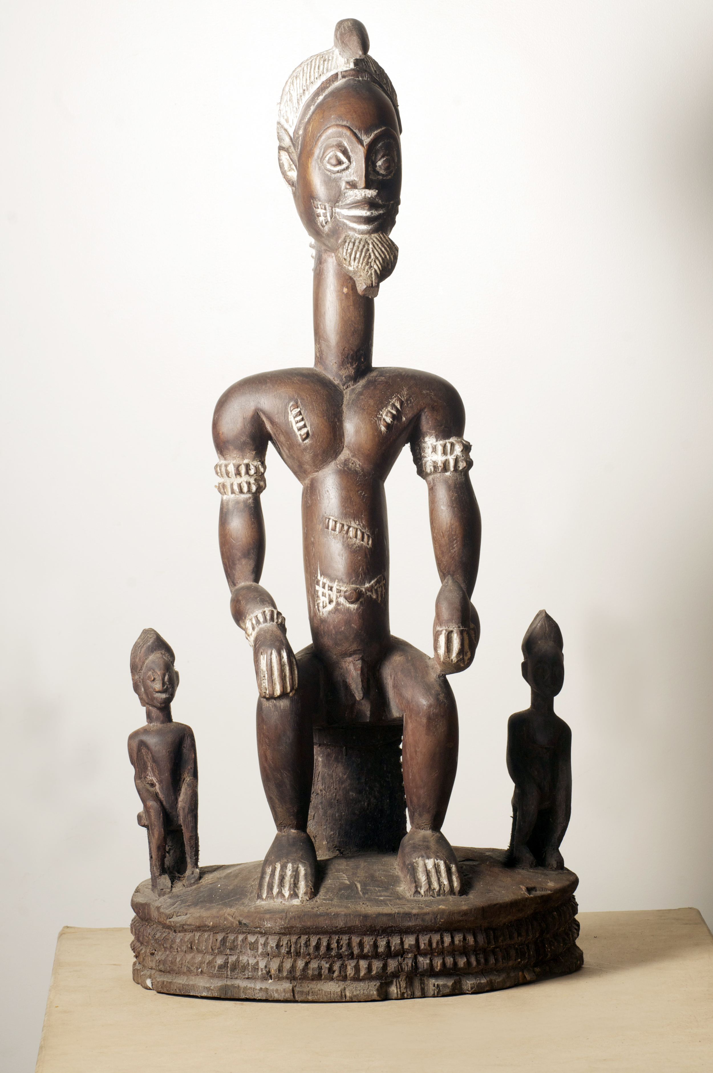 Malinke Figure, Cote D'Ivoire. Height 35 inch.Pp. $2670.00.jpg