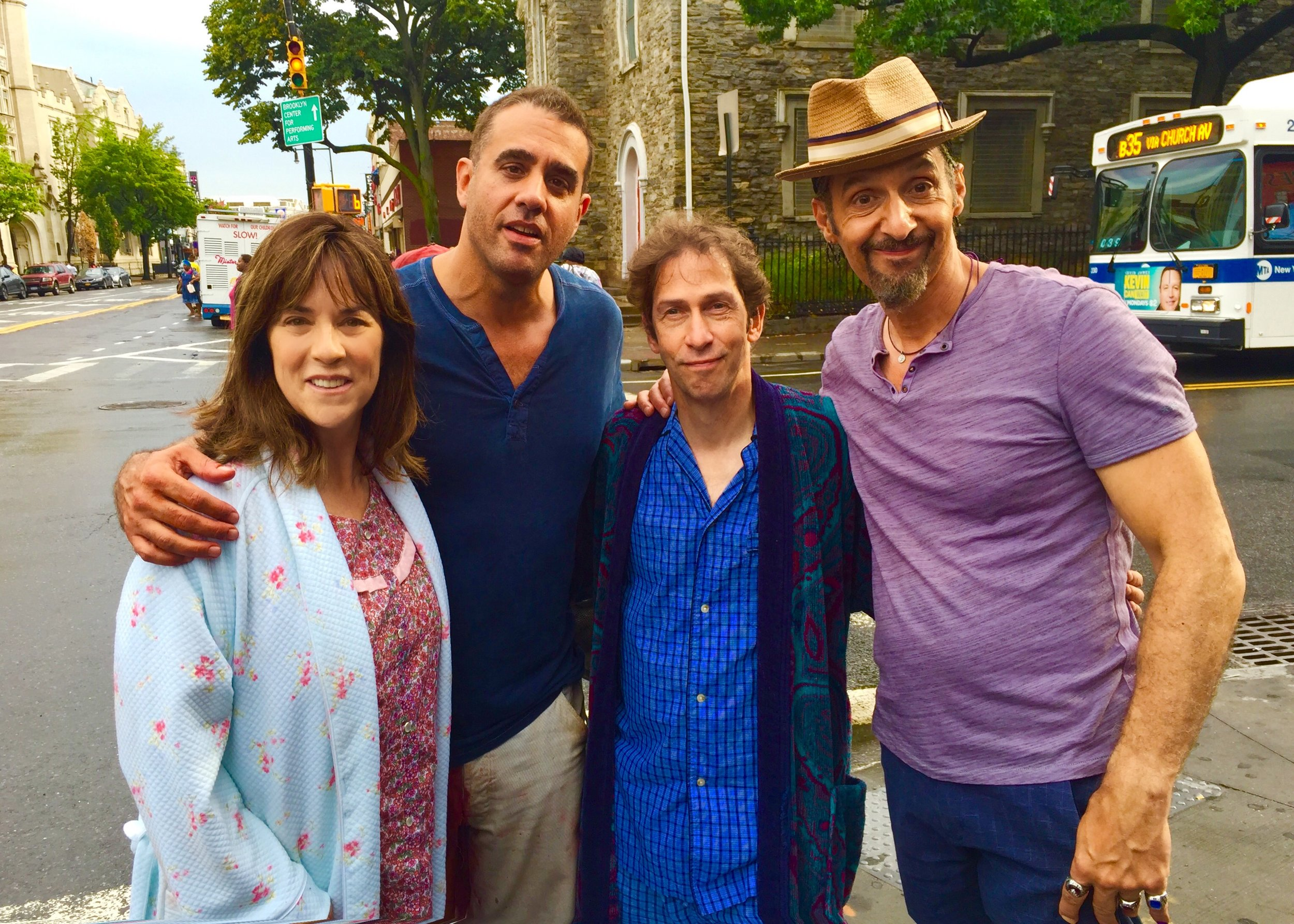 John Turturro's THE JESUS ROLLS, (formerly GOING PLACES). Filmed in 2016. Premieres 2020. I play Tim Blake Nelson's wife in a scene with John and Bobby Cannavale.