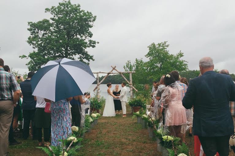 Beautiful Ceremony Setup