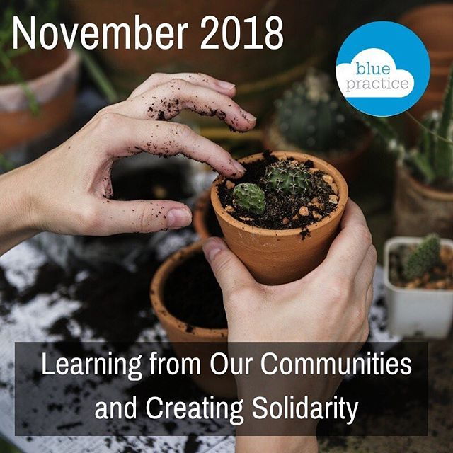 November is all about #community + #solidarity here at Blue Practice - whether it be through travel and working remotely, or attending national PR events, we are feeling especially #thankful for opportunities to share knowledge and collaborate with enriching communities. It is through these unique experiences that we can create positive action towards a #regenerative future. Read more in our November newsletter -- link in bio! #communications #marketing #publicrelations #november #portland #sanfrancisco #earth #gratitude