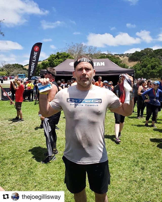 Big shout-out to our founder Joe @thejoegillisway now a spartan @spartanrace 👏 Thank you for keeping us Clean & Refreshed 👍🚿😁 #Repost @thejoegillisway with @get_repost ・・・ First Spartan Race. Note to self by black On The Go shirts next time 😂 #spartanrace #onthegotowels #bodywipes #shredded #bodybuilding #cycling #crossfit #fitness #triathlon #travel #tennis #gym #fitspo #hiking #mma #jiujitsu #camping #fitnessjourney #determination #boxing #cardio #freeshipping #healthylifestyle #personaltrainer #girlsthatlift#backpacking #ketodiet #running #summer