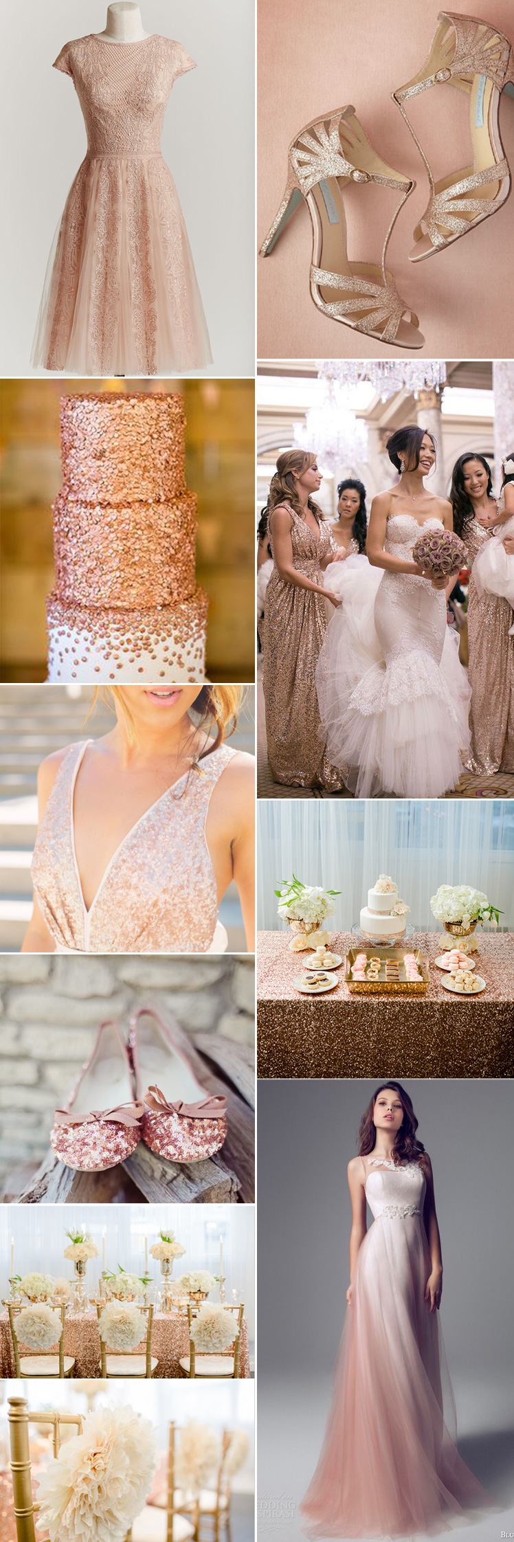 Images: Top Row Left via  Chic Vintage Brides  | Top Row Right via  Green Wedding Shoes  | Second Row Left via Wedding Chicks | Second Row Right via  Aisle Perfect  | Third Row Left via  One Wed  | Third Row Right via Wedding Chicks | Fourth Row Left via  Wedding Party App  | Bottom Row Left via Wedding Chicks | Bottom Row Right via