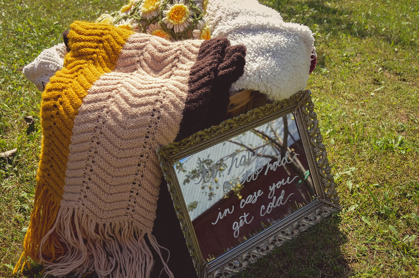 wedding blanket sign wedding blankets